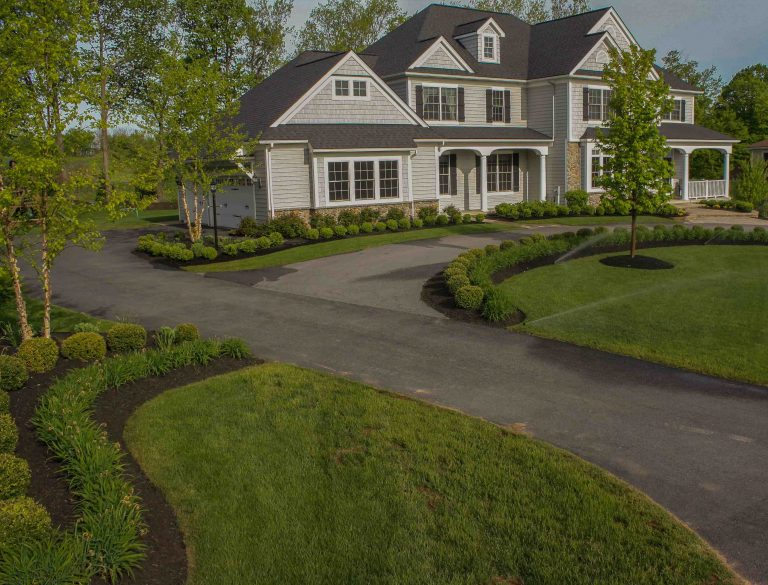 Pittsford NY Landscape Makeover After