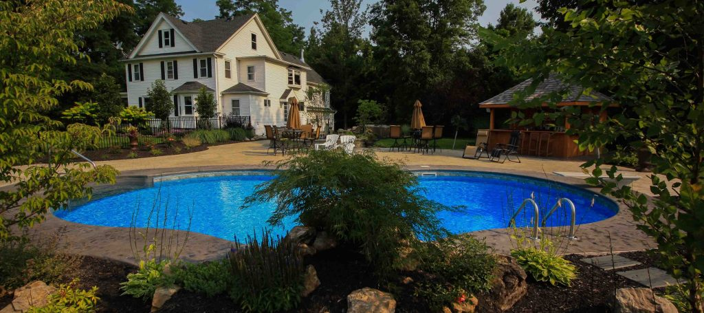 pool installation Rochester NY Fountain Pools