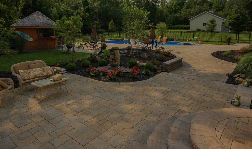 Inground Pool project designed and installed in Rochester NY
