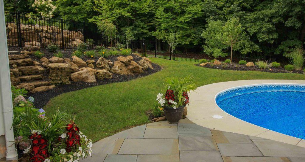 Custom Pool Project Rochester NY