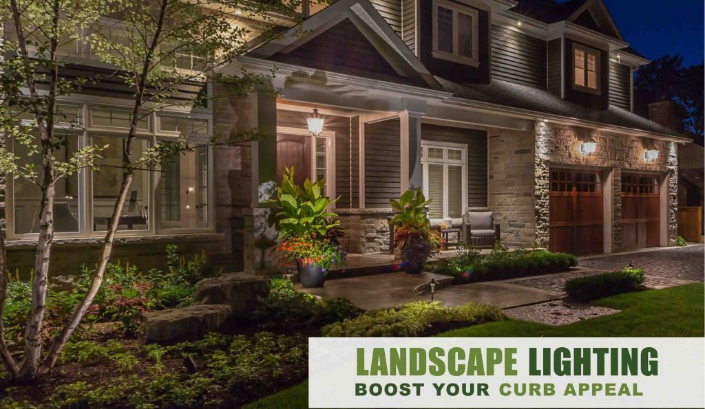Landscape Lighting design and installation Rochester NY