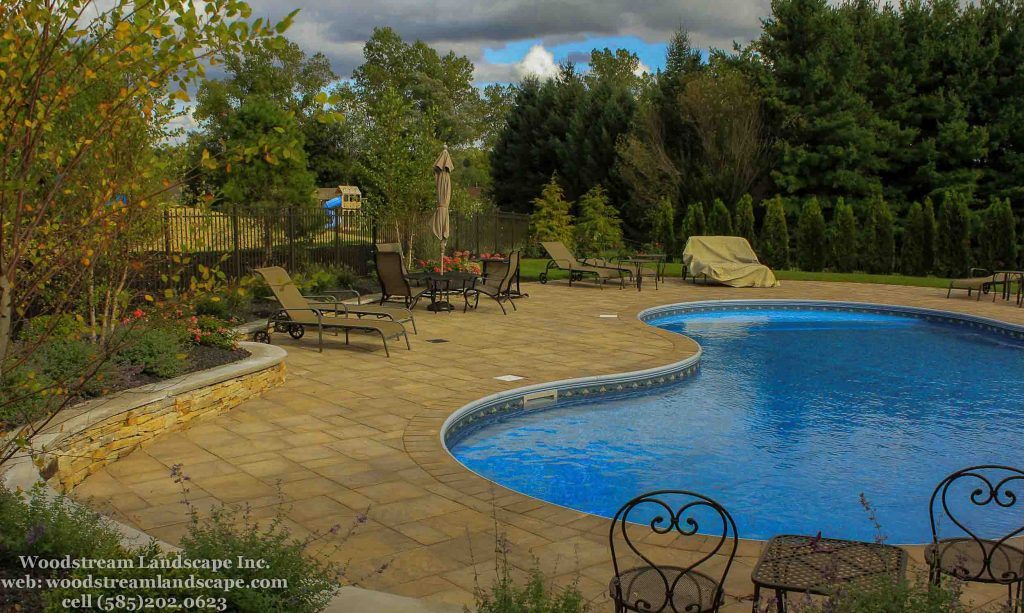 Pool Design and installation Project photo in Rochester NY