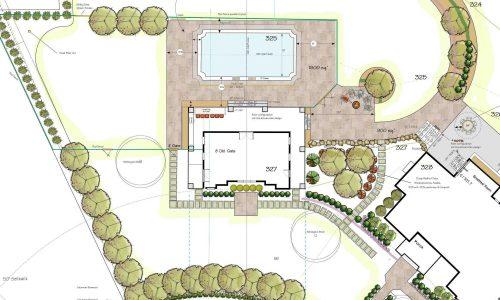 Custom Pool Design Example Rochester NY