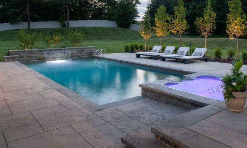Inground Pool Design Rochester NY