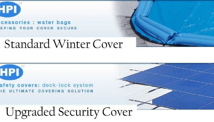 Inground pool costs & options Rochester NY Security Cover Upgrade $2,500