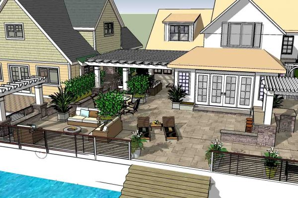 Landscape Design example in Greece NY