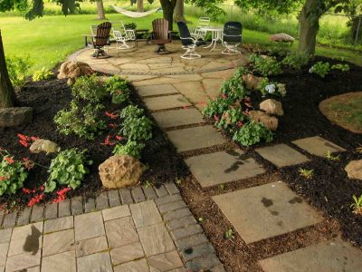 Landscape Renovation for Backyard in Rochester NY