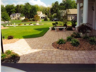 Front Walkway Rochester NY